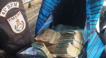 Polícia apreendeu R$ 130 mil em espécie