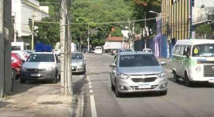 Os dois sentidos da Rua São Luiz Gonzaga foram interditados