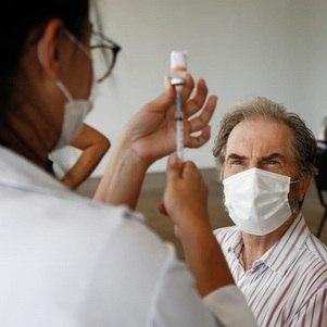 Rio vacina homens com 62 anos