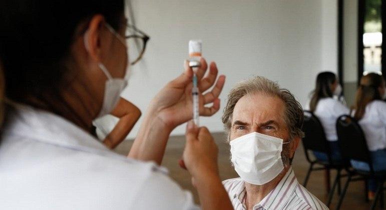 Vacinação contra a covid