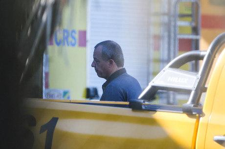 Cabral deixou Curitiba no final da tarde