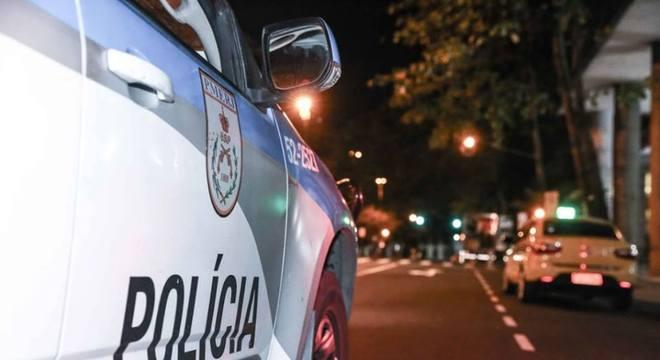 Veículo da Polícia Militar do Rio de Janeiro