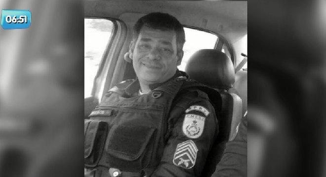 Sargento Nunes foi baleado junto com o irmão no dia 8 de fevereiro