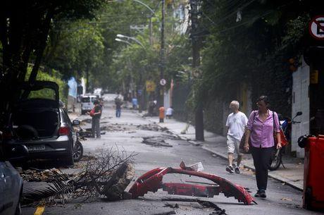 Chuva deixou o Rio de Janeiro em estágio de crise