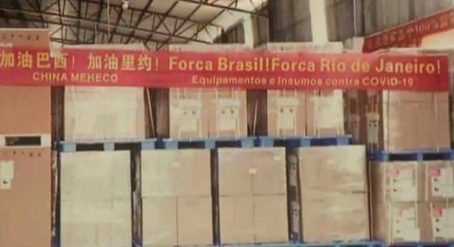 Mensagem de apoio foi anexada em carga reservada ao município do Rio