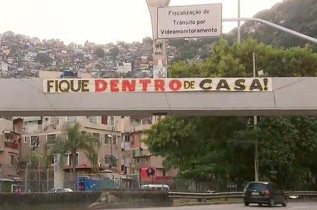 Faixa foi estendida na Rocinha, zona sul do Rio