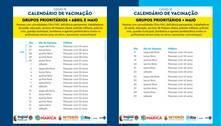 Rio, Niterói, Maricá e Itaguaí divulgam calendário de vacinação
