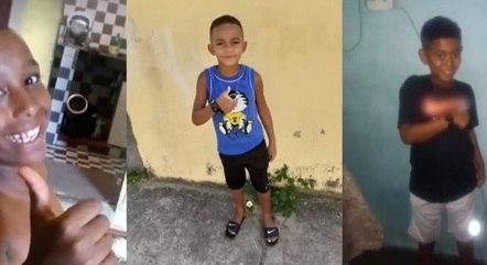 Polícia diz que crianças foram mortas por traficante