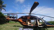 PF apreende R$ 7 milhões em helicóptero Búzios (RJ)