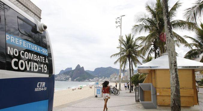 Rio mantém medidas restritivas até 27 de abril