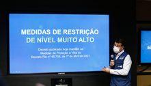 Risco de contágio por covid-19 é considerado muito alto no Rio