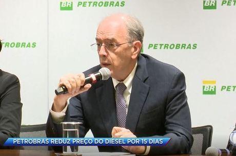 Parente afirmou que redução será aplicada apenas para o diesel
