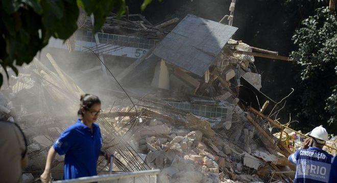 Prédios desabaram e deixaram 24 mortos na Muzema