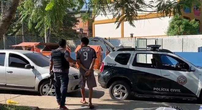 Nove suspeitos foram presos pela polícia