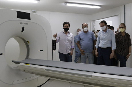 Tomógrafo de alta resolução foi inaugurado no Rio