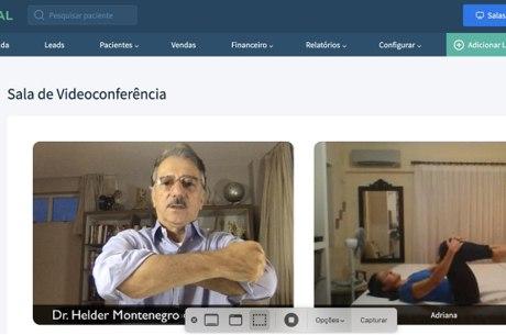 Plataforma online permite  fisioterapia  grátis para todo o Brasil