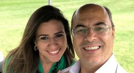 Helena é esposa do governador afastado do Rio