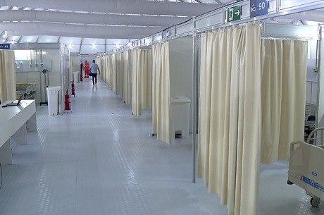 Hospital terá 200 leitos para atender pacientes de covid-19