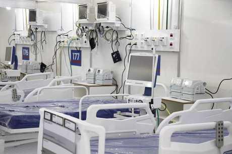 Hospital de Campanha foi montado em São Gonçalo