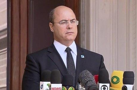 Witzel é investigado por crime de responsabilidade no Rio