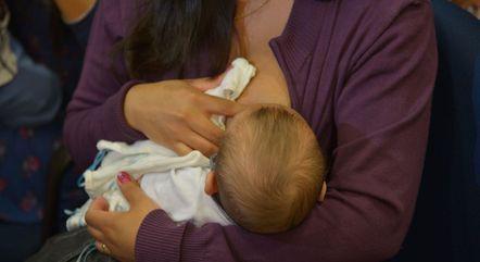Espaço Maternidade incentiva aleitamento materno