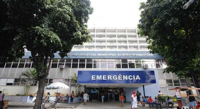 Criança baleada segue em estado estável no Hospital Municipal Albert Schweitzer