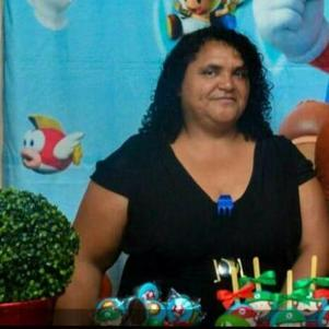 A vítima Roseli Barbosa