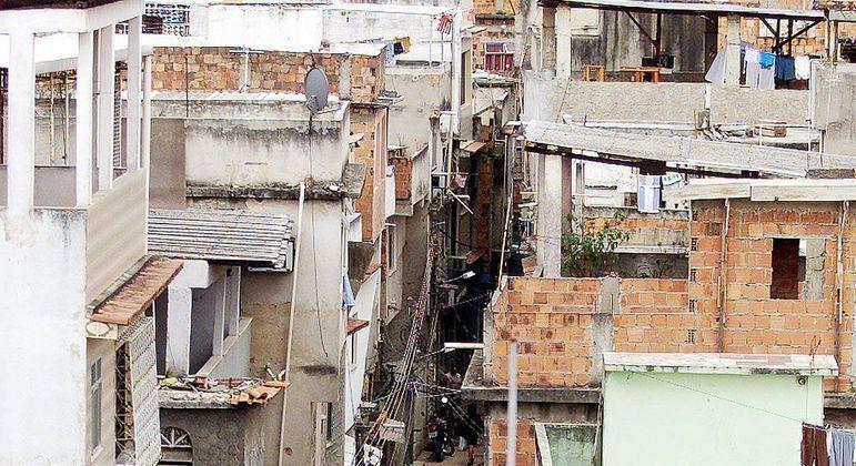 Favela do Jacarezinho, na zona norte do Rio de Janeiro