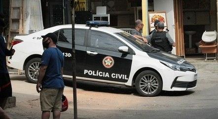 Operação da polícia durou cerca de oito horas