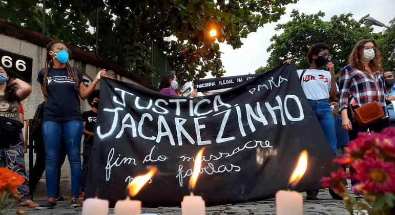 Protesto por mortes em operação policial