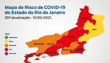 Covid-19: RJ entra na bandeira laranja por risco moderado