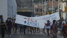 Rio: moradores da Providência fazem manifestação na linha férrea