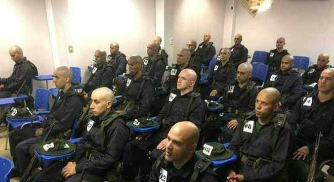 Alunos do 3º Curso de Policiamento Ambiental