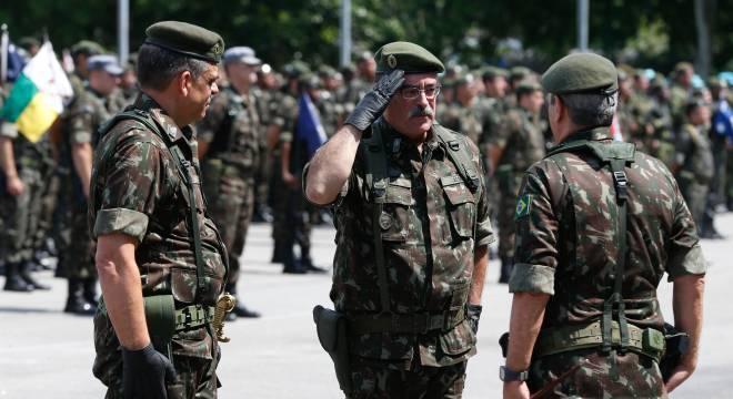 General Sinott foi nomeado em fevereiro pelo interventor Braga Netto