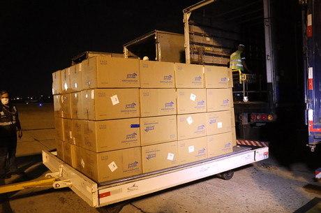 Novos equipamentos desembarcaram no aeroporto do Rio