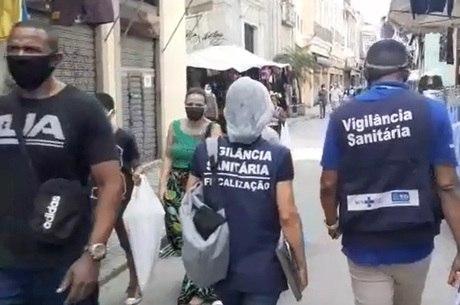 Fiscais inspecionam reabertura na Saara