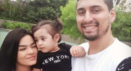 Kiara e Natan moravam com filha em imóvel que desabou