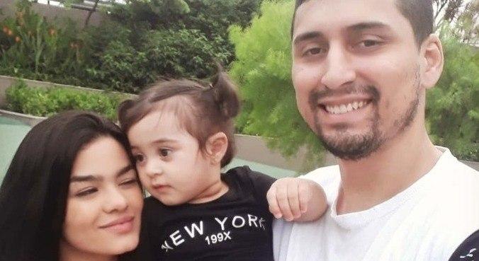 Kiara, Maitê e Natan; família dormia quando o prédio desabou