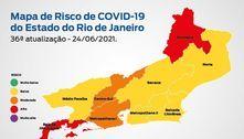 Estado do RJ se mantém com risco baixo para covid-19