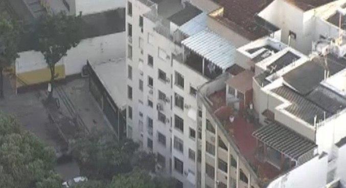 Menina cai de 4º de prédio na Tijuca e está internada em estado grave