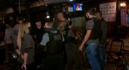 Perícia foi acionada para bar onde crime aconteceu