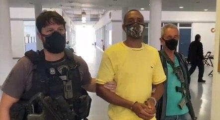 Prisão do miliciano Hamilton de Moraes  Ribeiro
