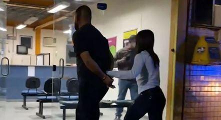 Homem foi preso horas após o crime
