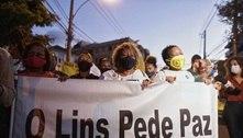 Manifestantes protestam após enterro de grávida morta no Rio