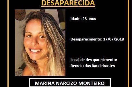 Polícia busca informações sobre jovem desaparecida