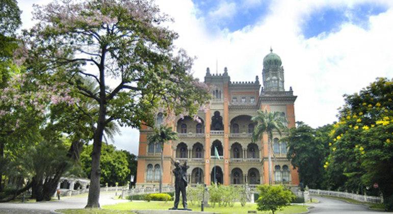 A sede da Fiocruz, no Rio de Janeiro