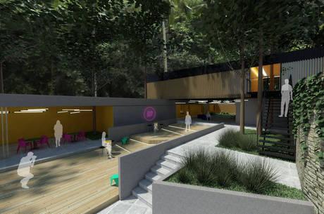 Previsão é que hostel seja inaugurado em 2020