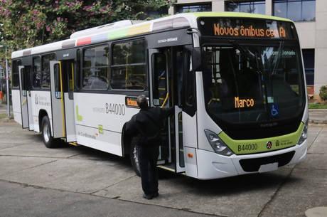 Novos ônibus terão cores padronizadas