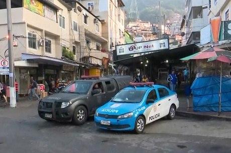 Suspeito foi presos por policiais da 11ª DP (Rocinha)