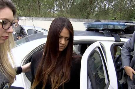 Patrícia foi presa em casa, na zona oeste